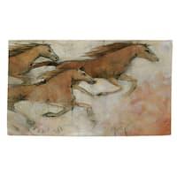 Horse Fresco Ii Rug - 4' x 6'