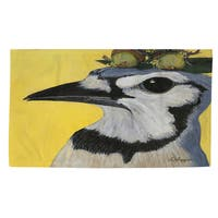 You Silly Bird Parker Rug - multi - 4' x 6'