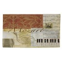 Classic Composers Mozart Rug (4' x 6')