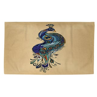 Peacock Rug (4' x 6')