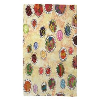 Thumbprintz Funky Flowers Rug (4' x 6')