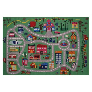 Around the Town Area Rug (3'3 x 4'8)