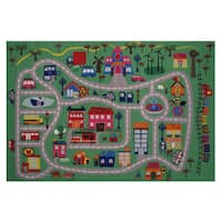 Around the Town Area Rug - 3'3 x 4'8