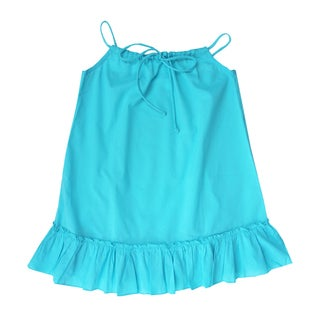 Azul Swimwear Girls Turquiose Drawstring Tunic
