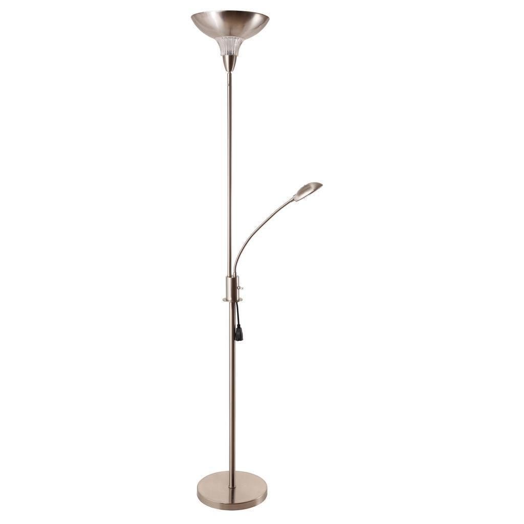 Task Torchiere 2 Light Floor Lamp
