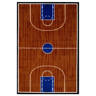 Basketball Court Accent Rug (1'6 x 2'4)