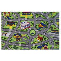 Driving Fun Green Accent Rug (1'6 x 2'4)