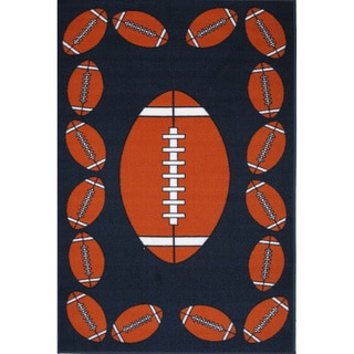 Football Time Accent Rug (1'6 x 2'4)
