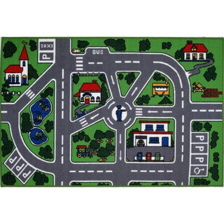 City Streets Accent Rug