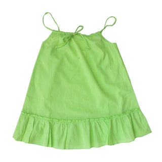 Azul Swimwear Girls Green Drawstring Tunic