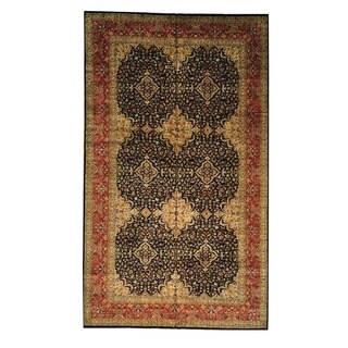 Gallery Size New Zealand Wool Hand-knotted Rug (9'9 x 16'7)