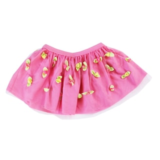 Azul Swimwear Girls 'Bippity Boppity Boo' Pink Skirt