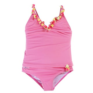 Azul Swimwear 'Bippity Boppity Boo' Pink Tankini Set