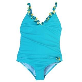 Azul Swimwear 'Bippity Boppity Boo' Aqua Tankini Set