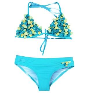 Azul Swimwear 'Bippity Boppity Boo' Aqua Triangle Bikini