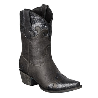 Lane Boots Women's 'Dakota' Black Cowboy Boot