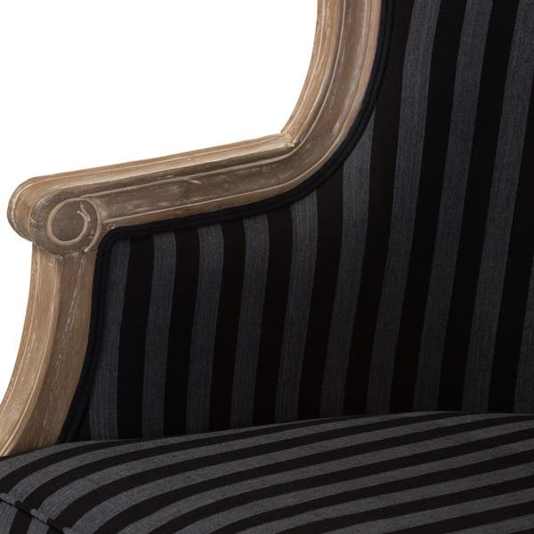 Surprising Shop Baxton Studio Charlemagne Traditional French Black And Pabps2019 Chair Design Images Pabps2019Com