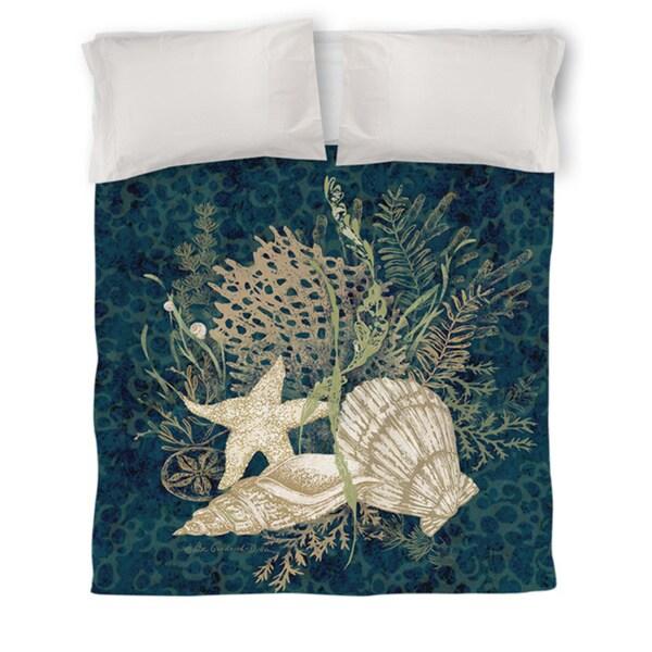 Sea Shells Vignette Duvet Cover