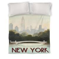 City Skyline New York Duvet Cover