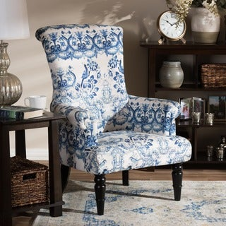 Baxton Studio Darlington Porcelain Arm Chair
