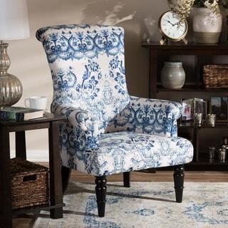 Baxton Studio Darlington Porcelain Arm Chair