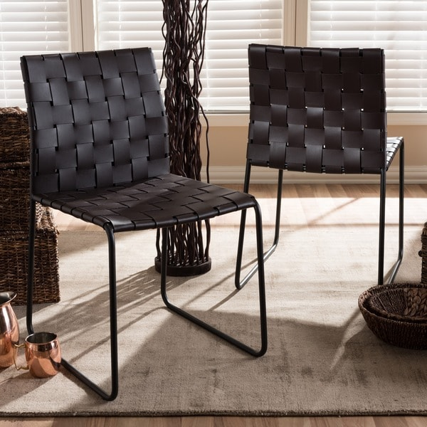 Baxton Studio Fairfield Dining Chairs (Set Of 2)
