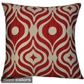 Cleo Jacquard 17-inch Throw Pillows (Set of 2)