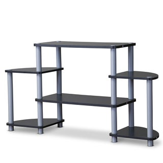 Baxton Studio Orbit Triple Tier TV Stand