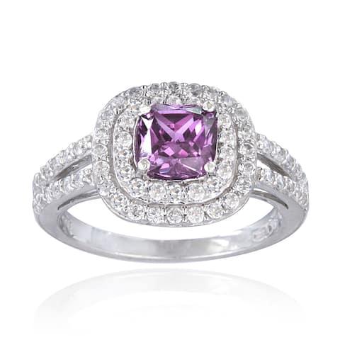 Glitzy Rocks Sterling Silver Gemstone Ring