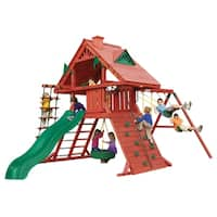Gorilla Playsets Sun Palace I Multi Cedar Wood Swing Set