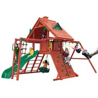 Gorilla Playsets Sun Palace II Cedar Swing Set
