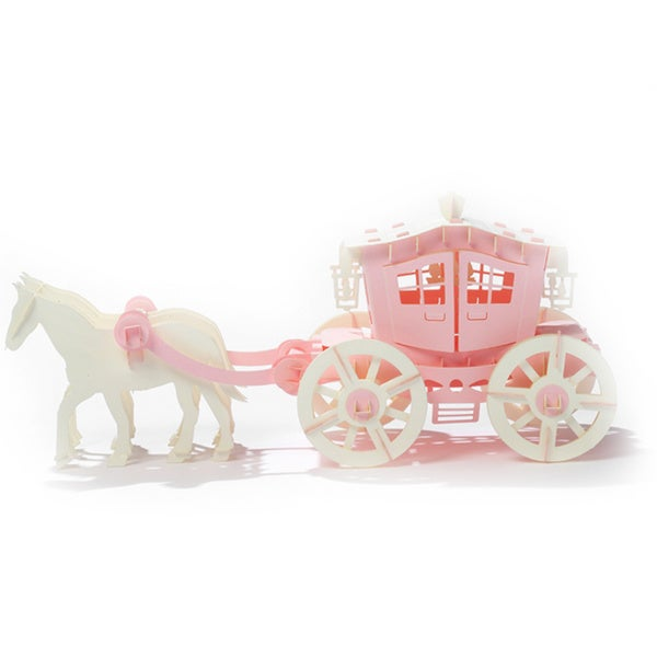 Papero Pink Carriage Assemblage Model Kit