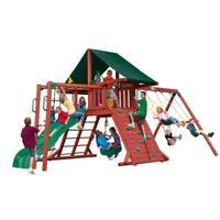 Gorilla Playsets Sun Climber II Cedar Swing Set
