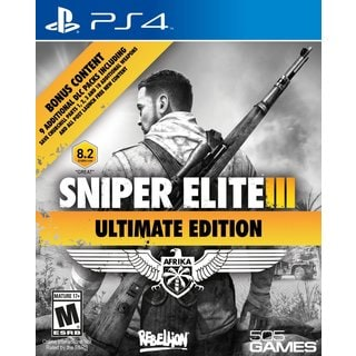 PS4 - Sniper Elite III Ultimate Edition