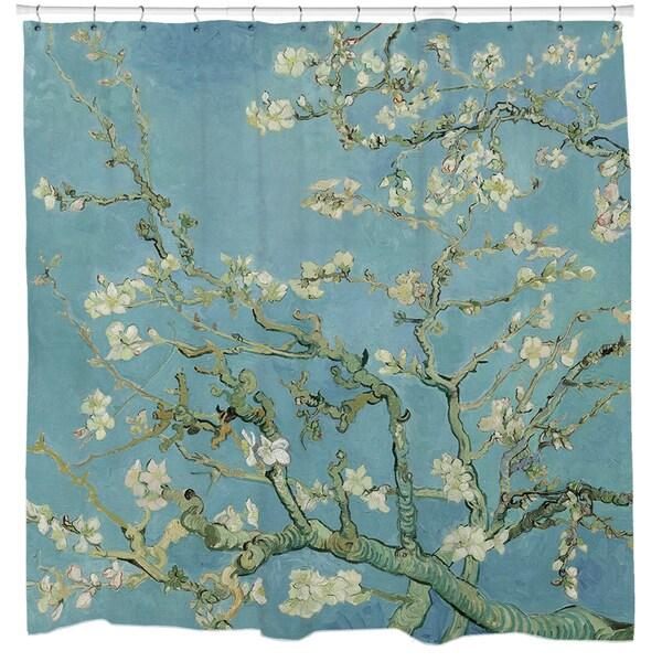 Almond Blossoms Van Gogh Shower Curtain