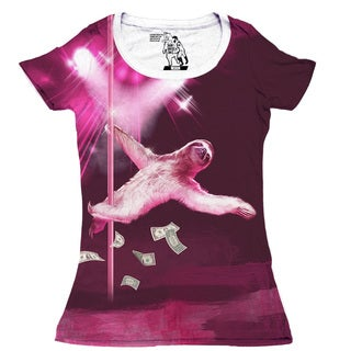 Women's Dancing Sloth Short-sleeve Top