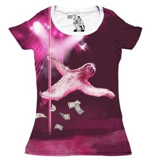 Women's Dancing Sloth Short-sleeve Top