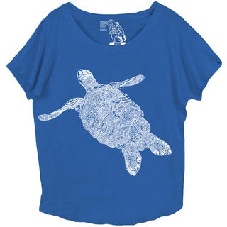 Women's Elegant Turtle Dolman Top
