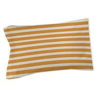 Bright Stripes Orange Sham