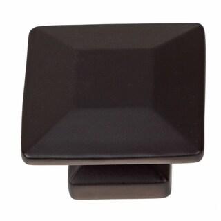 GlideRite 1.375-inch Matte Black Square Cabinet Knobs (Pack of 25)