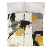 Yellow Catalina I Duvet Cover