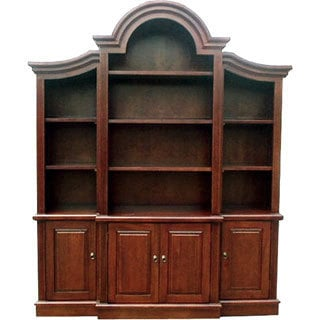 D-Art Arch Top Bookcase 3-piece Set