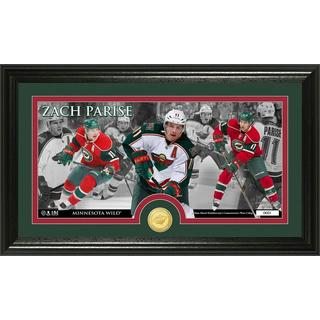 NHL Minnesota Wild Zach Parize Bronze Coin Pano Photo Mint