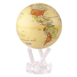 4.5-inch Solar Powered MOVA World Globe - Antique Ocean