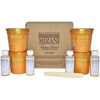 Mizani Butter Blend Sensitive Scalp Rhelaxer Kit (4 Applications)