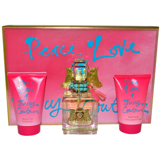 Juicy Couture Peace Love & Juicy Couture Women's 3-piece Fragrance Set