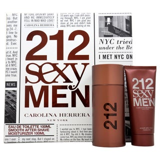 Carolina Herrera 212 Sexy Men Men's 2-piece Fragrance Set