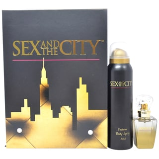 Sex and the City by Night Women's 2-piece Fragrance Set