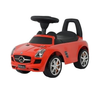 Best Ride On Cars Red Mercedes SLS AMG Push Car
