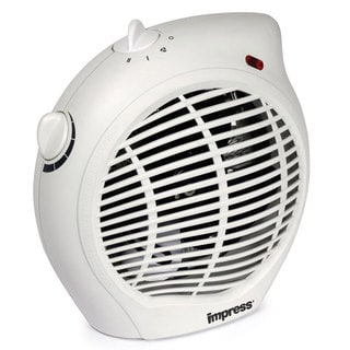 Impress IM-701 1500-watt 2-speed Fan Heater with Adjustable Thermostat (Refurbished)